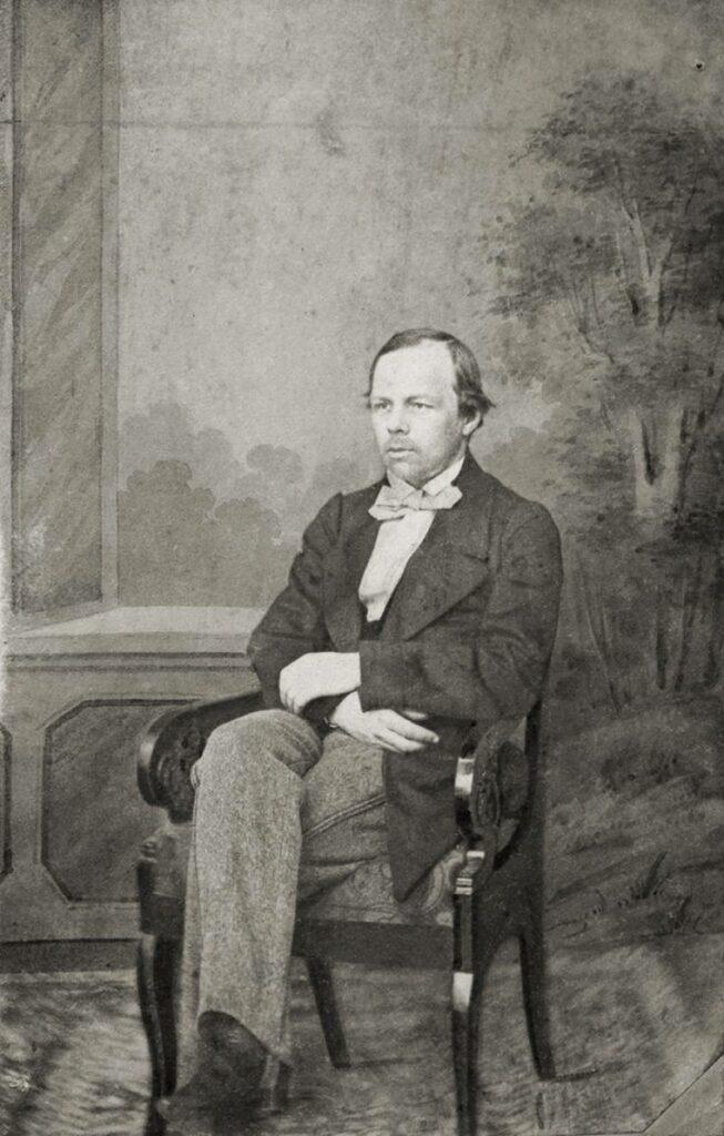 Fyodor M. Dostoevsky, 1861